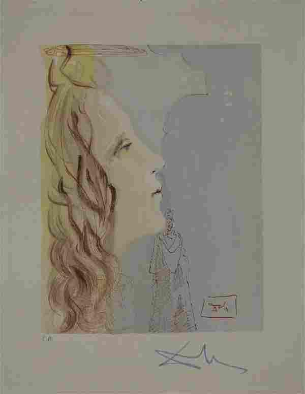 Salvador Dali, Paradise Canto 8, Divine Comedy