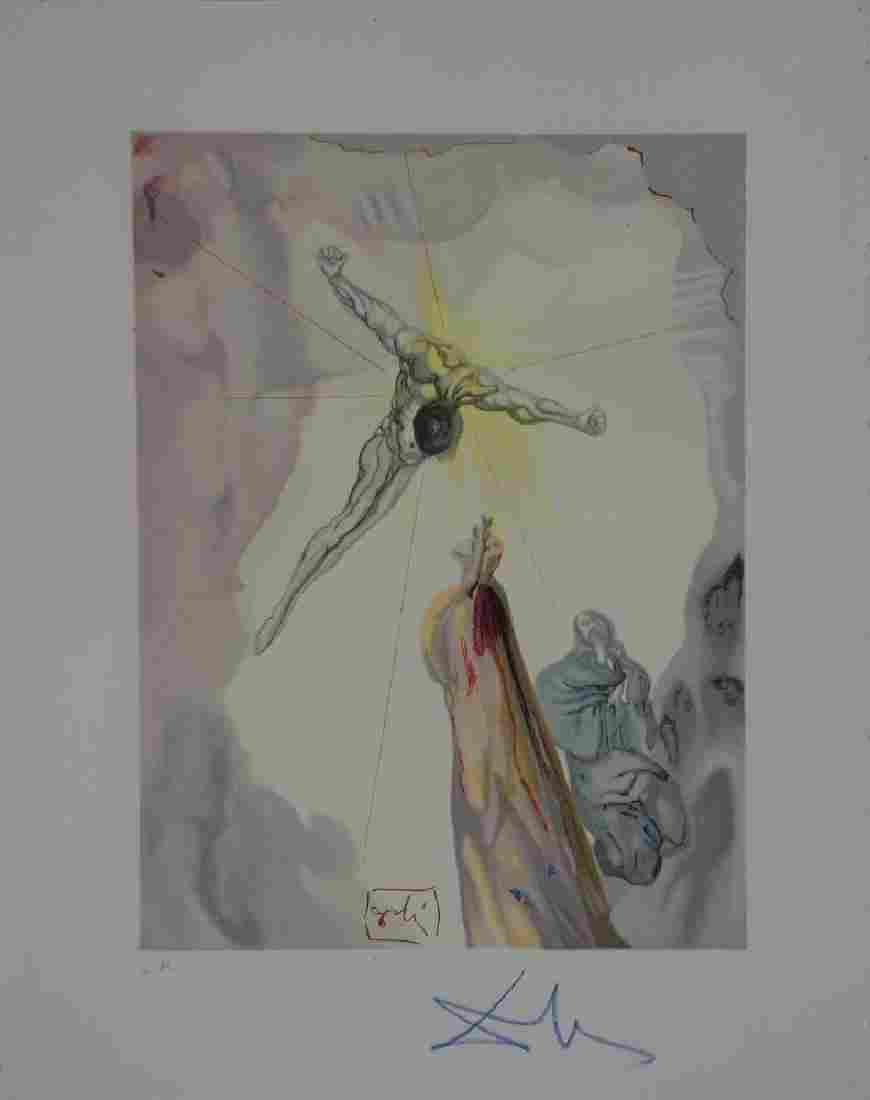 Salvador Dali, Paradise Canto 14, Divine Comedy