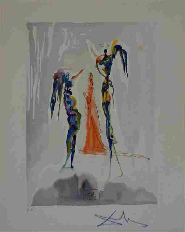 Salvador Dali, Paradise Canto 27, Divine Comedy