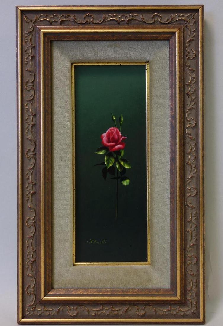 Gerald Stinski (b-1929) Still Life, Long Stemmed Roses