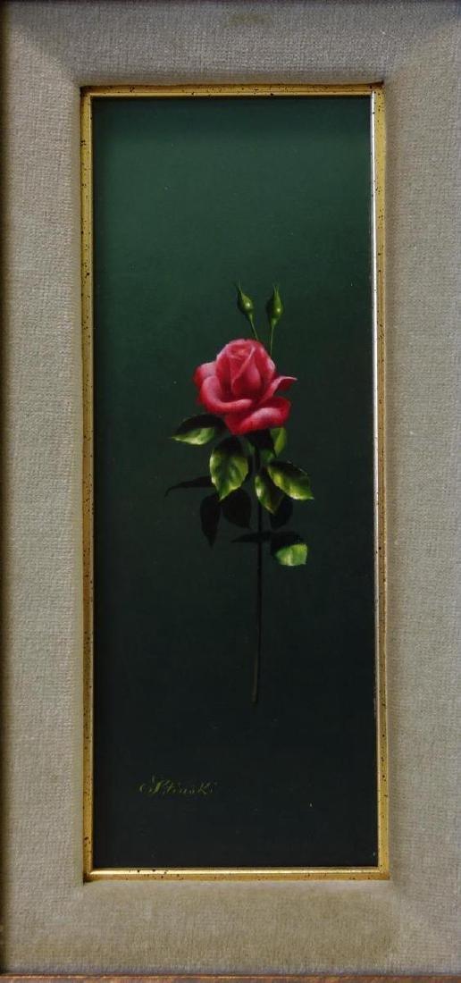Gerald Stinski (b-1929) Still Life, Long Stemmed Roses - 2