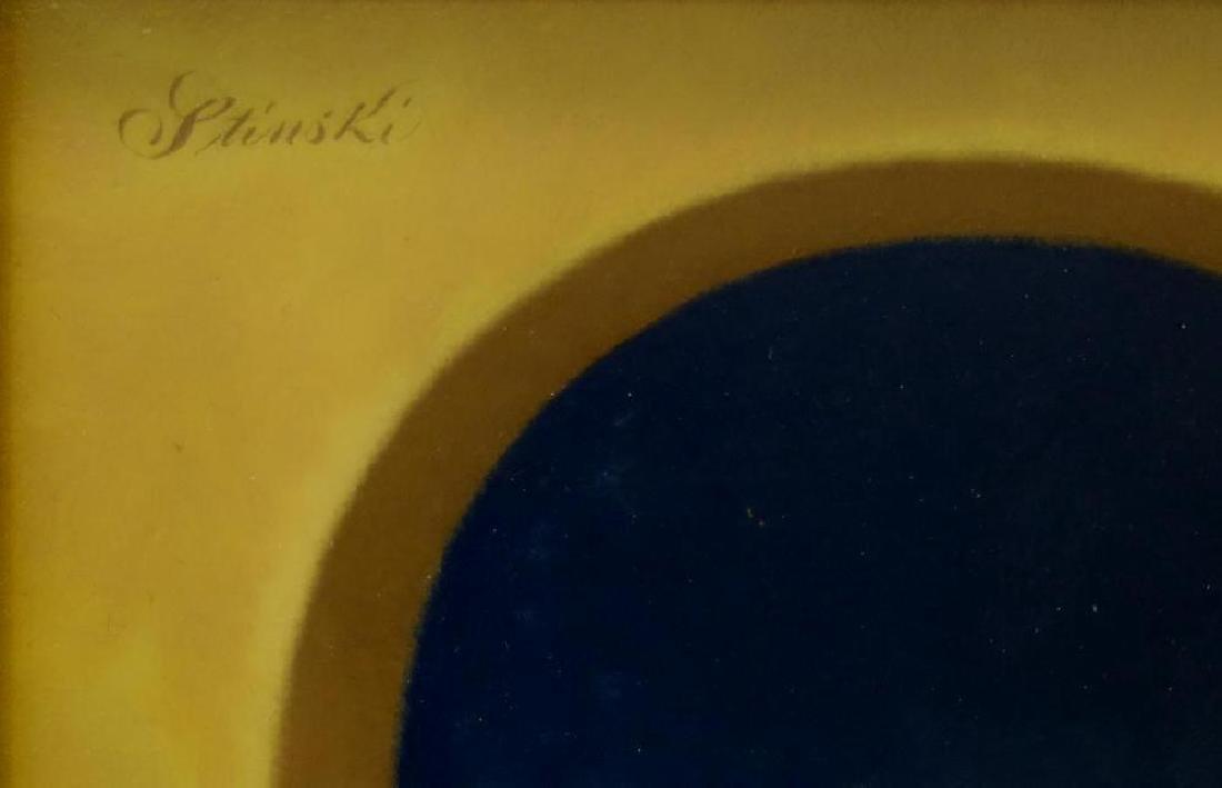 Gerald Stinski (b-1929) Still Life, Daisy Bouquet - 3