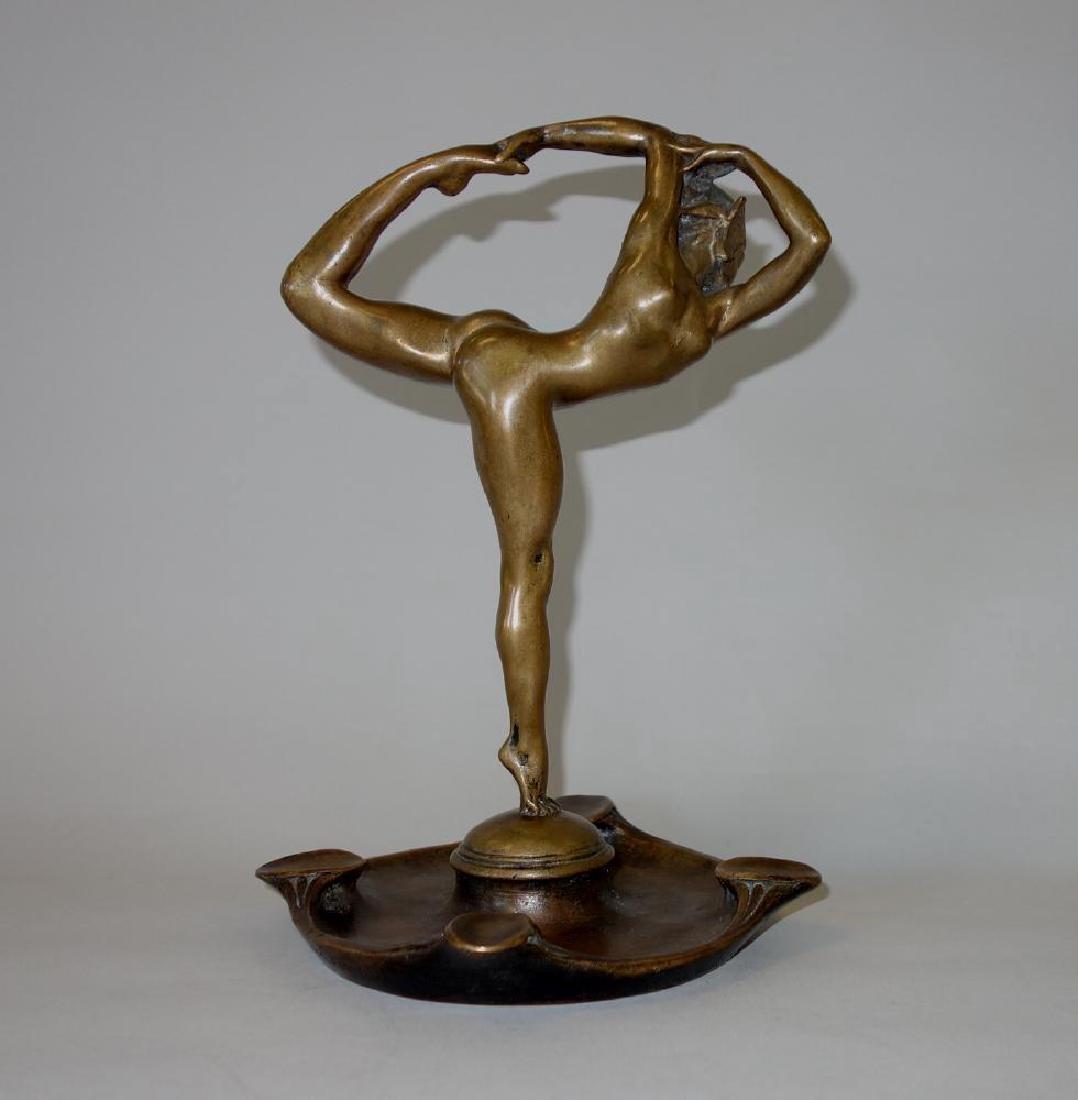 Edward McCartan (1879-1947) Bronze Dancer en Point - 2