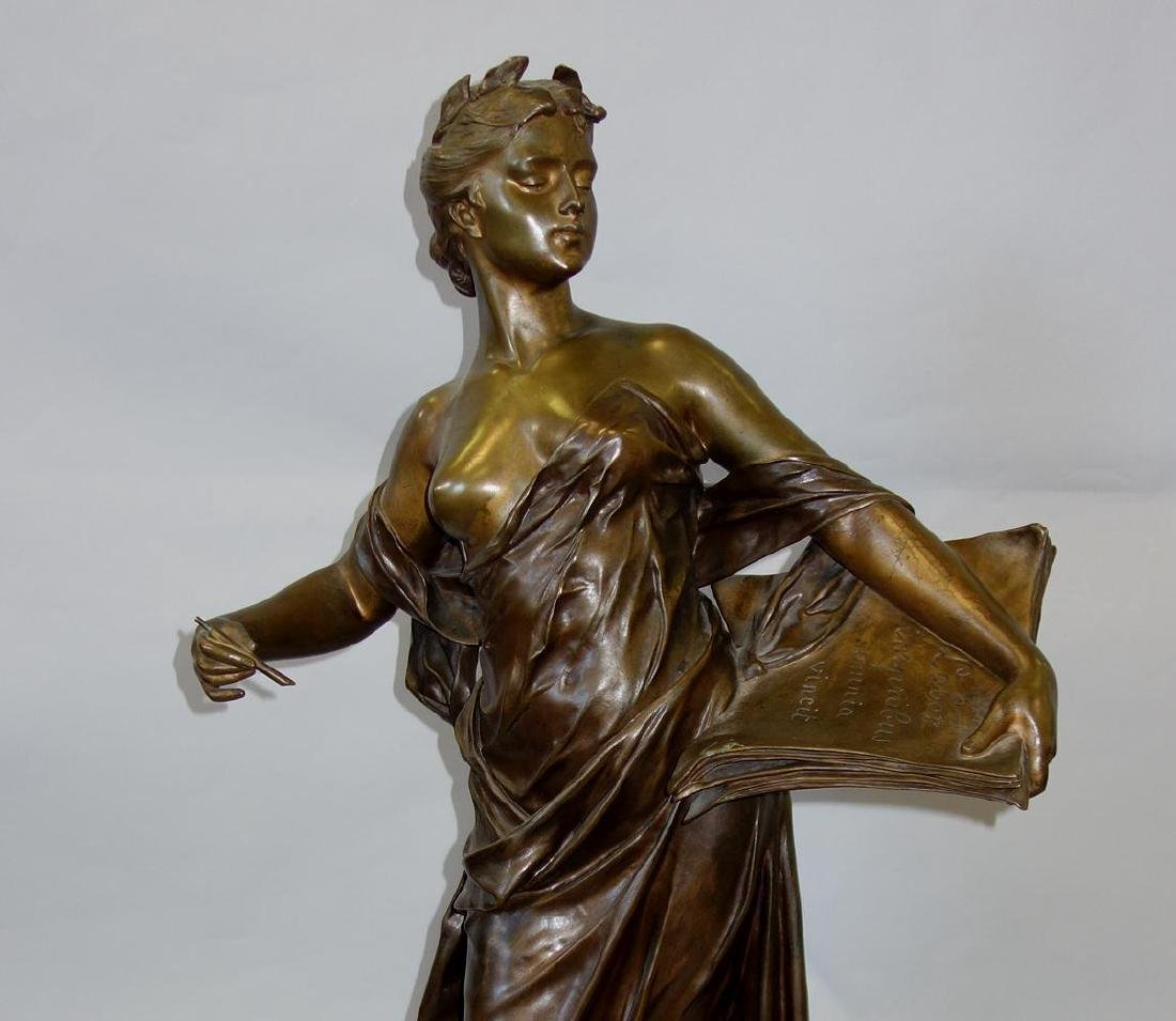 Edouard Drouot (1859-1945) Bronze, La Science - 2