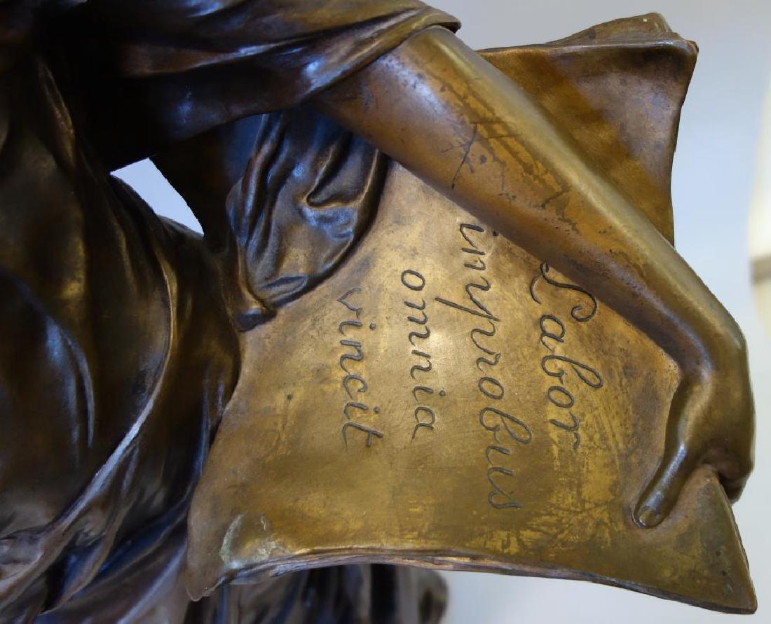 Edouard Drouot (1859-1945) Bronze, La Science - 3