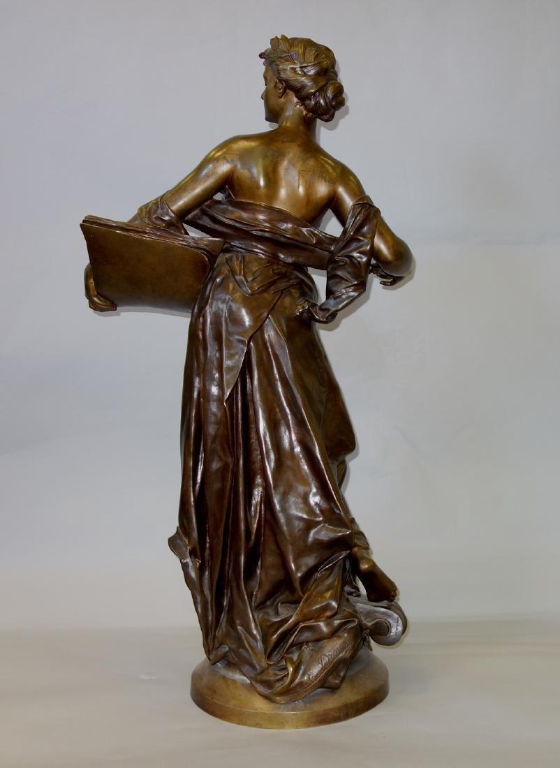 Edouard Drouot (1859-1945) Bronze, La Science - 4