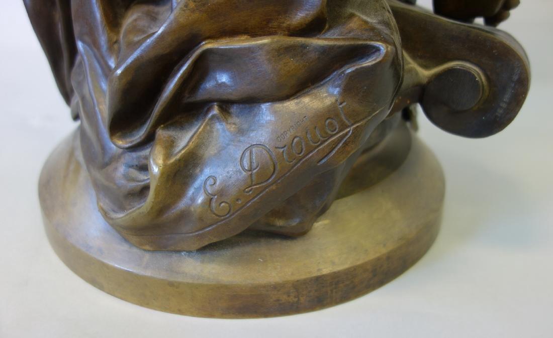 Edouard Drouot (1859-1945) Bronze, La Science - 5