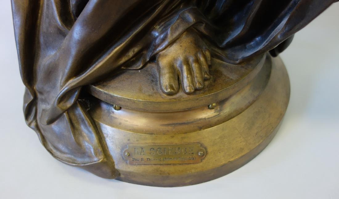 Edouard Drouot (1859-1945) Bronze, La Science - 6