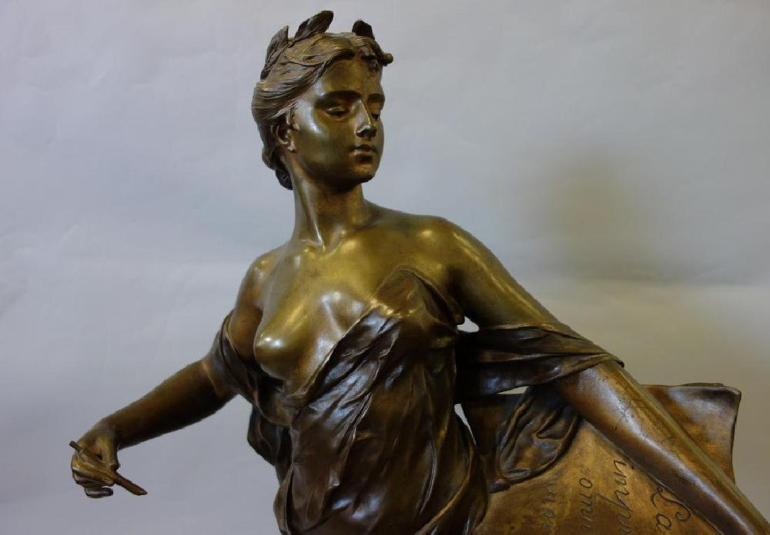 Edouard Drouot (1859-1945) Bronze, La Science - 7