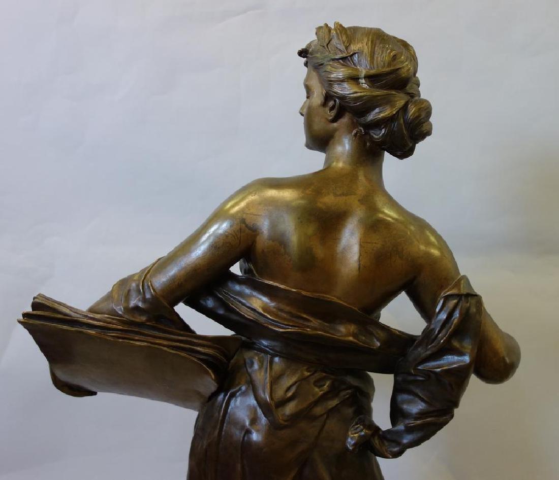 Edouard Drouot (1859-1945) Bronze, La Science - 8