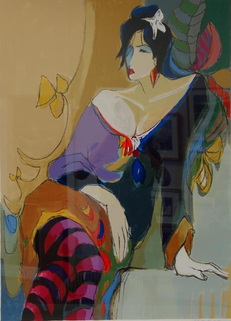 Isaac Maimon (b-1951) Monique, Serigraph