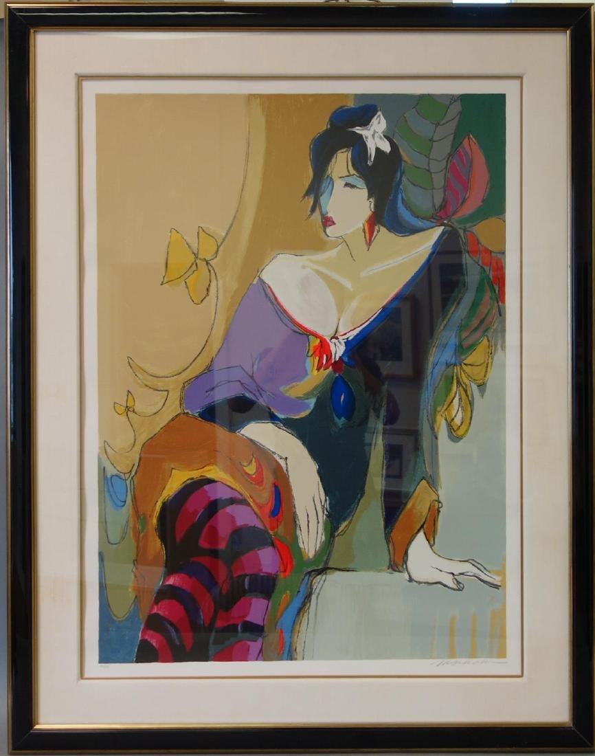 Isaac Maimon (b-1951) Monique, Serigraph - 2