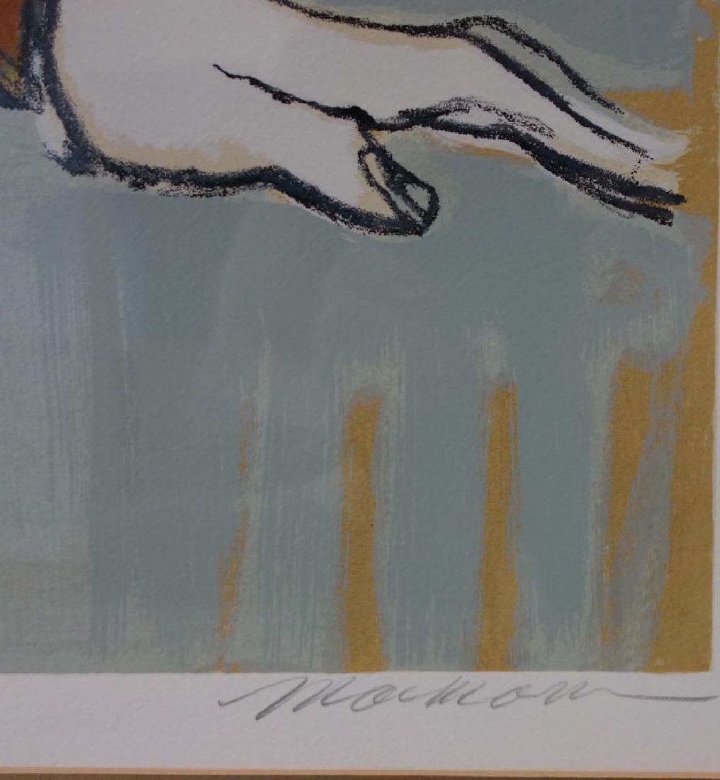 Isaac Maimon (b-1951) Monique, Serigraph - 3