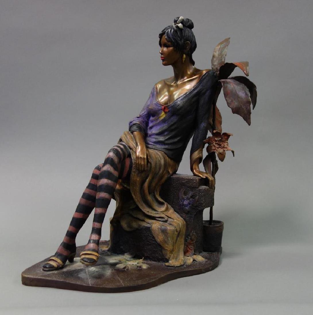 Isaac Maimon (b-1951) Bronze, Monique - 2