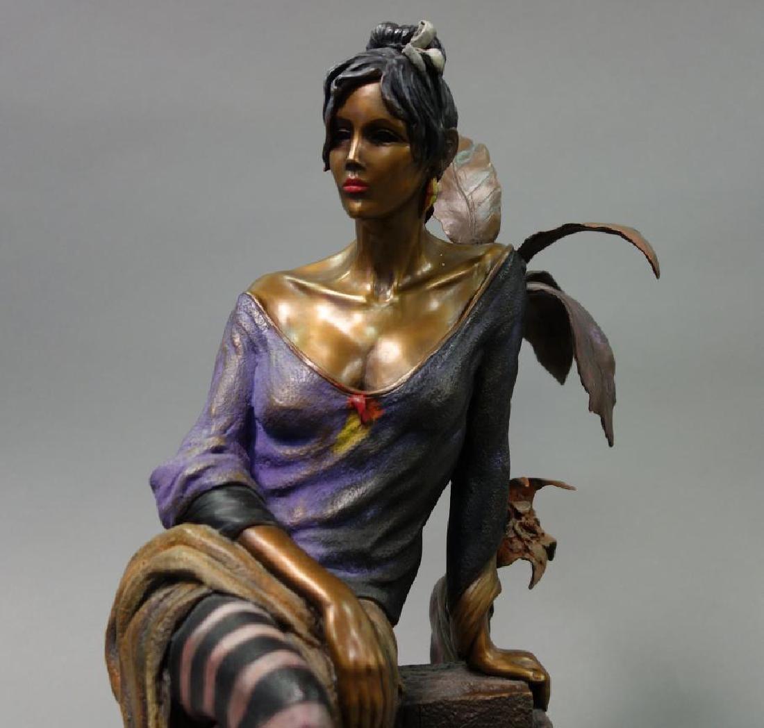 Isaac Maimon (b-1951) Bronze, Monique - 3