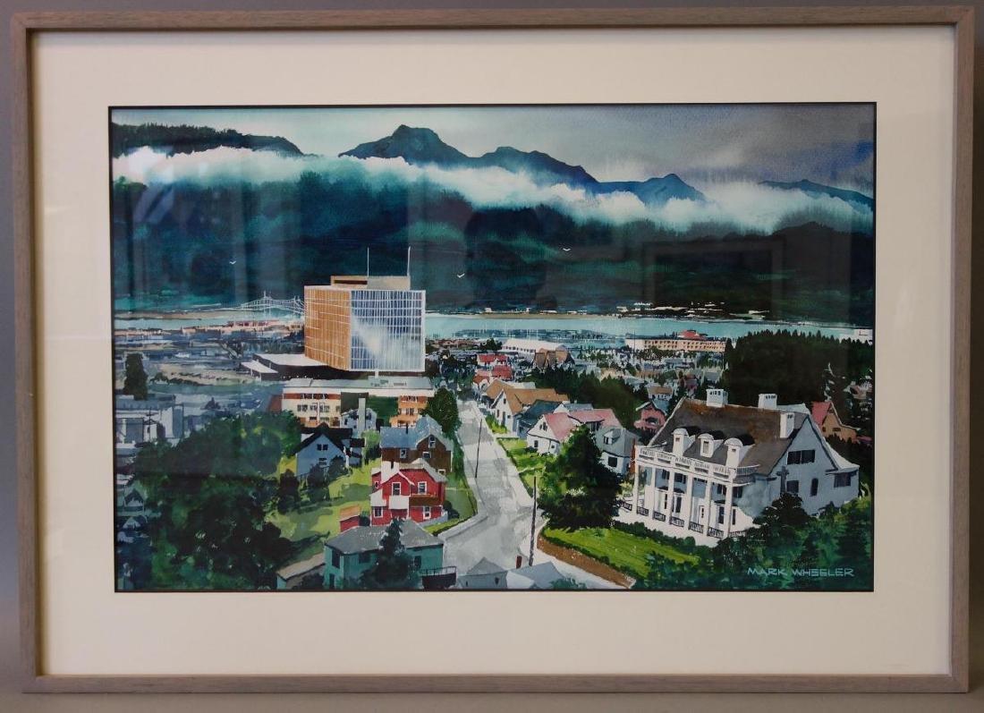 Mark Wheeler (1943-2010) Anchorage, Alaska - 2