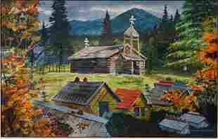 Mark Wheeler (Alaska 1943-2010) Landscape