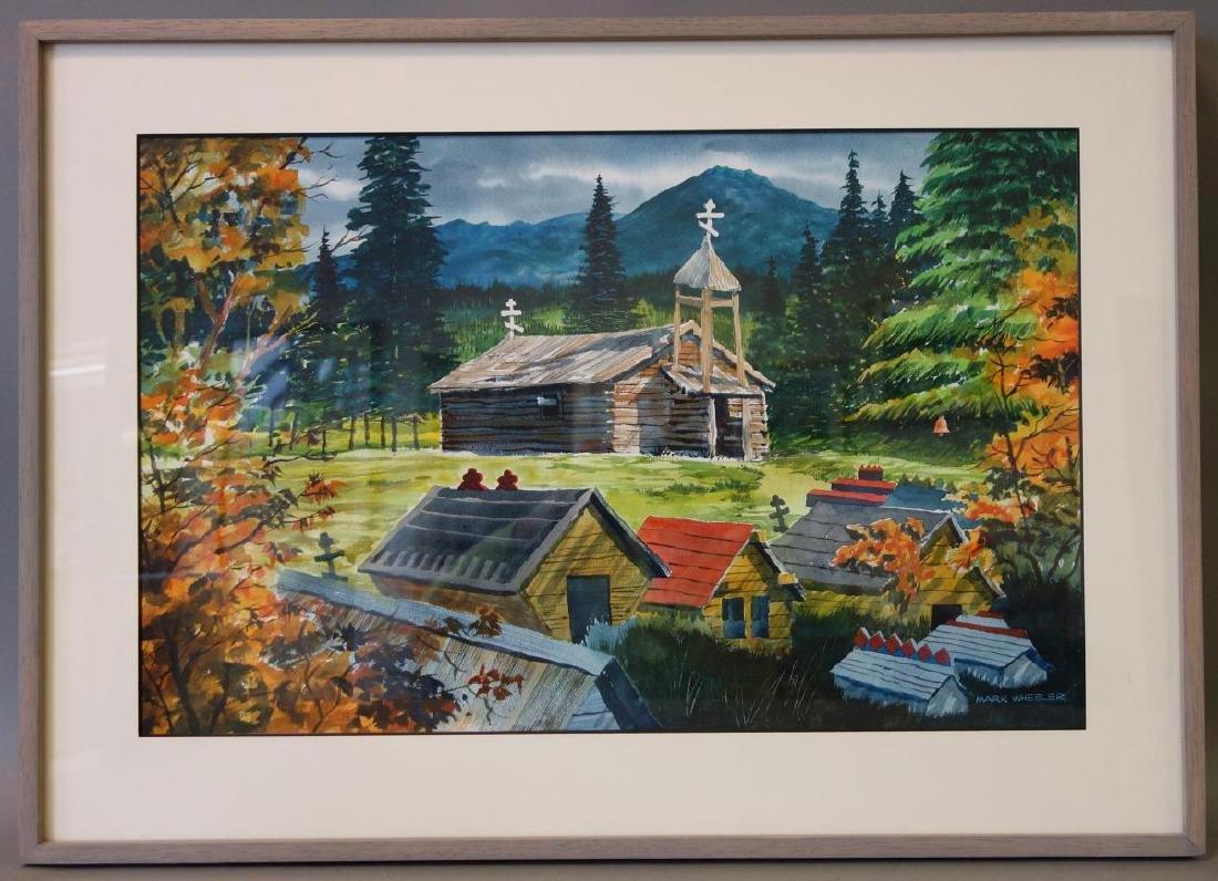 Mark Wheeler (Alaska 1943-2010) Landscape - 2