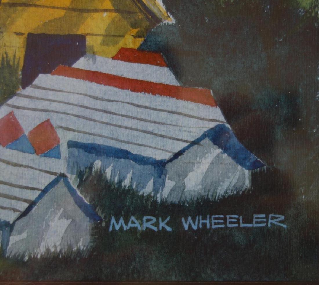 Mark Wheeler (Alaska 1943-2010) Landscape - 3