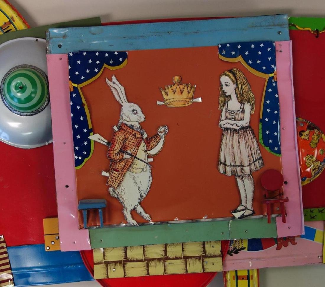 Alice In Wonderland, Assemblage Composition - 2