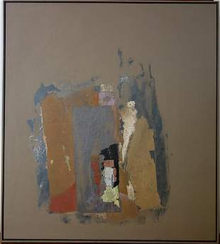 James Waterman (20thc WA) Sandstone Mixed Media