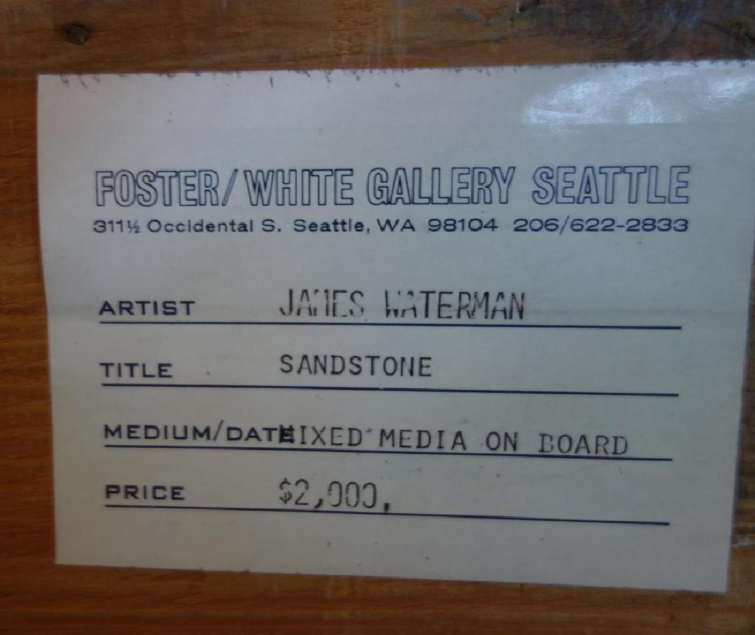 James Waterman (20thc WA) Sandstone Mixed Media - 2