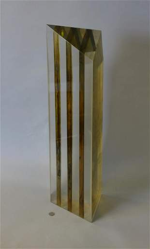 Parks Anderson (20thc WA) Acrylic Sculpture
