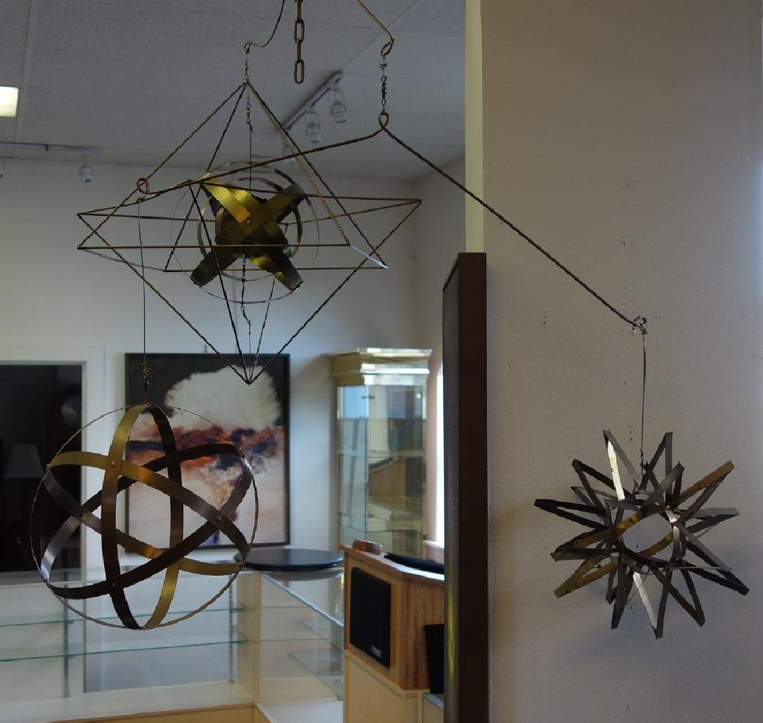 David Stoltz (b-1943) Mobile Kinetic  Sculpture