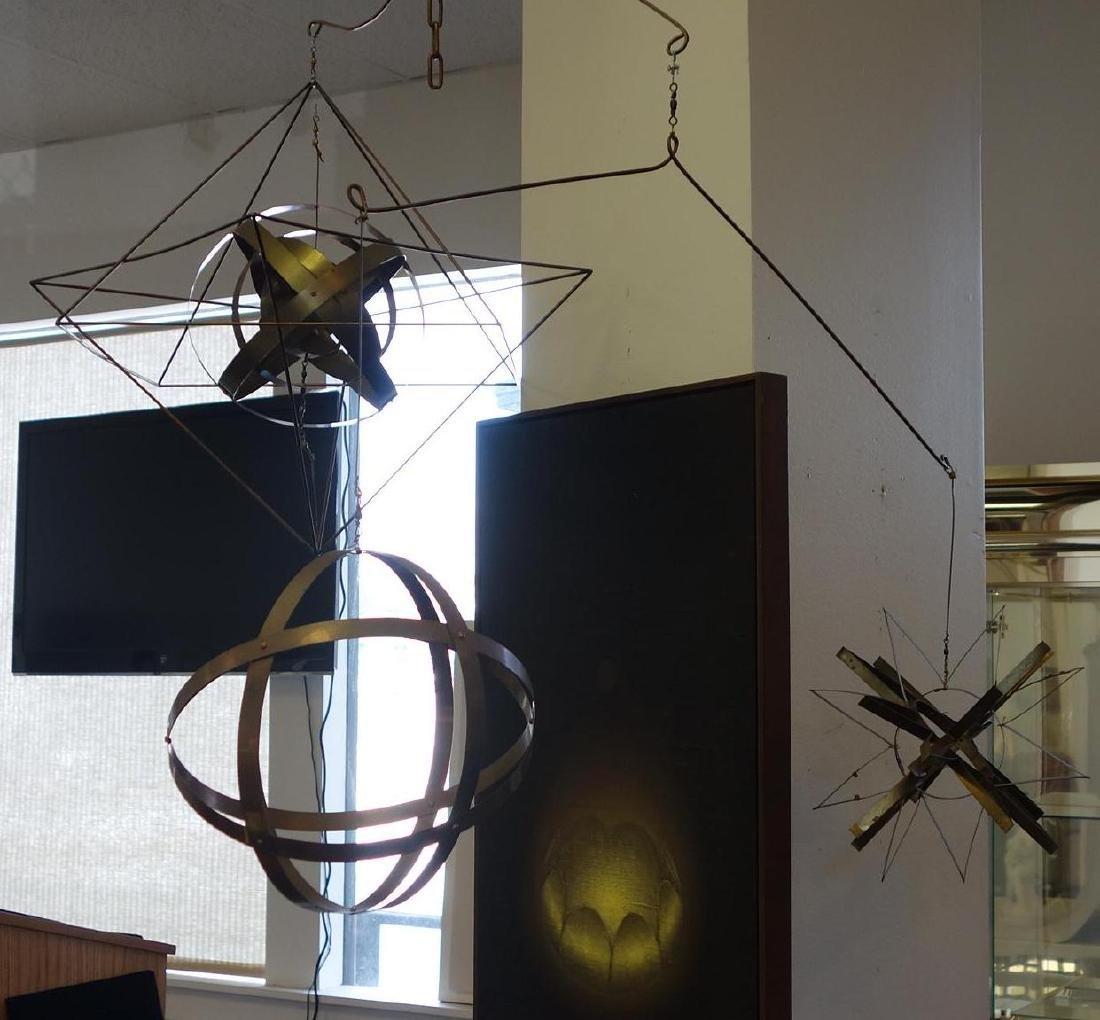 David Stoltz (b-1943) Mobile Kinetic  Sculpture - 2