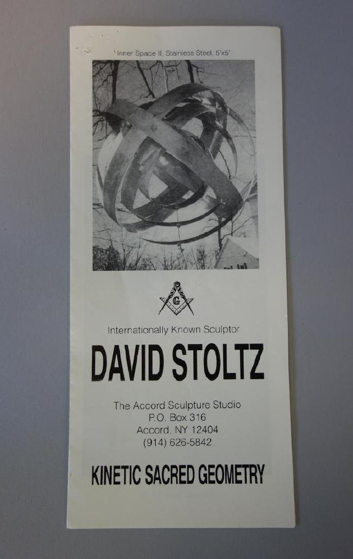 David Stoltz (b-1943) Mobile Kinetic  Sculpture - 4