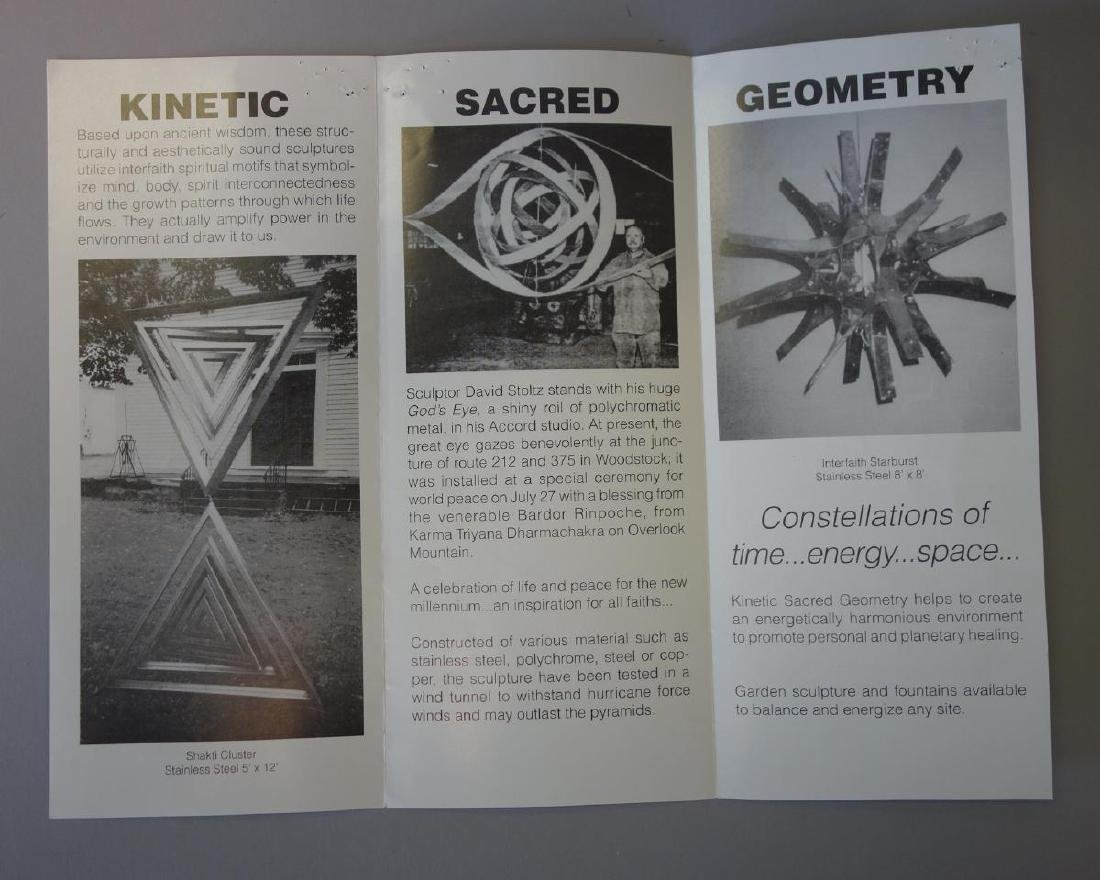 David Stoltz (b-1943) Mobile Kinetic  Sculpture - 5