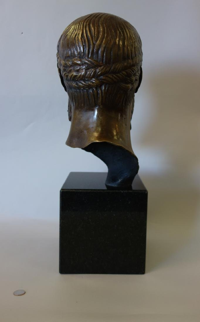 Bronze Sculpture of Hercules, Signed Issac - 2