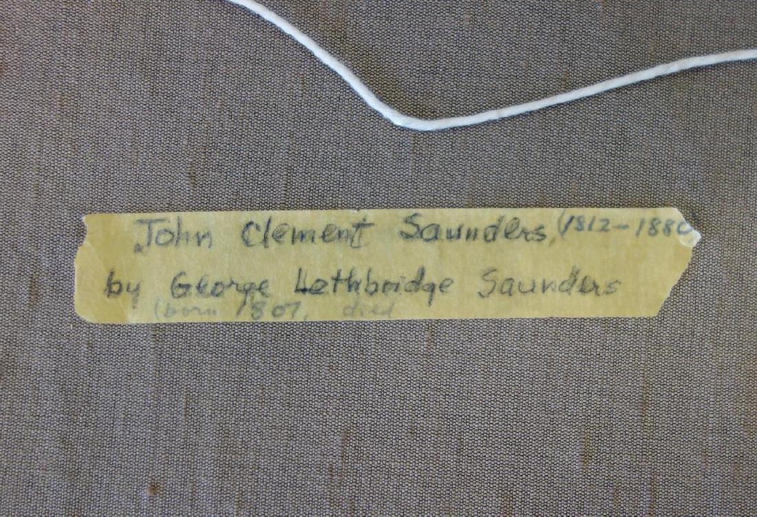George Lethbridge Saunders, Portrait John Saunders - 3