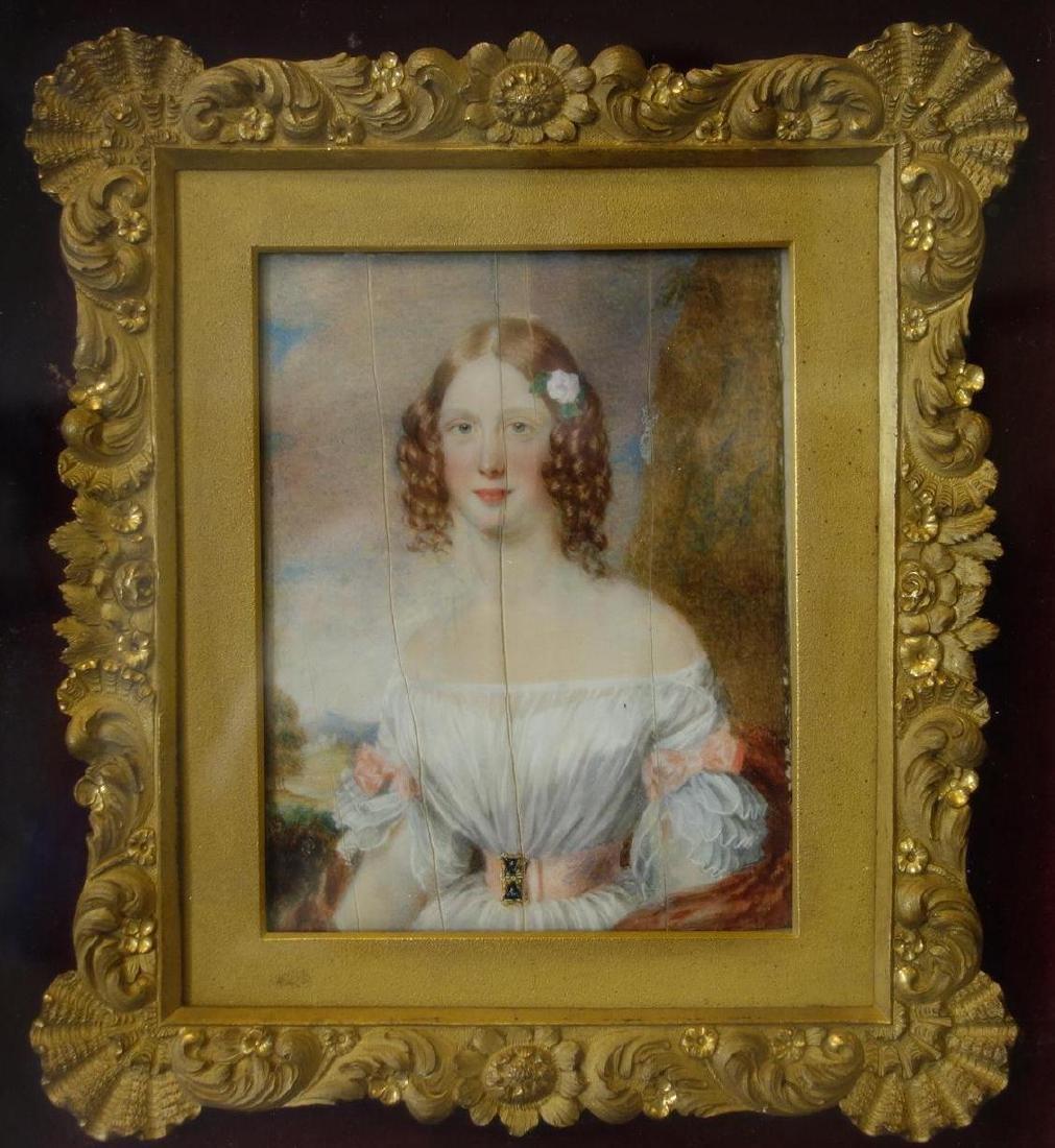 George Lethbridge Saunders, Portrait Lady Villiers