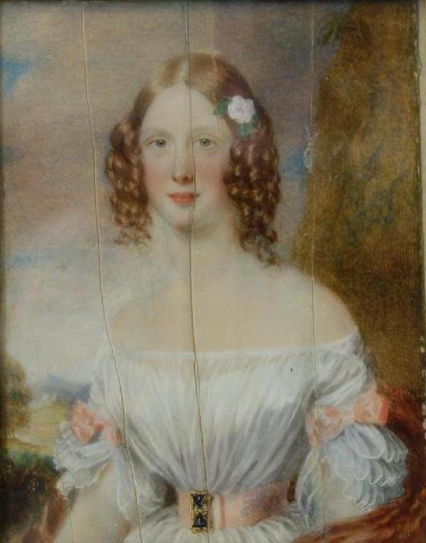 George Lethbridge Saunders, Portrait Lady Villiers - 2