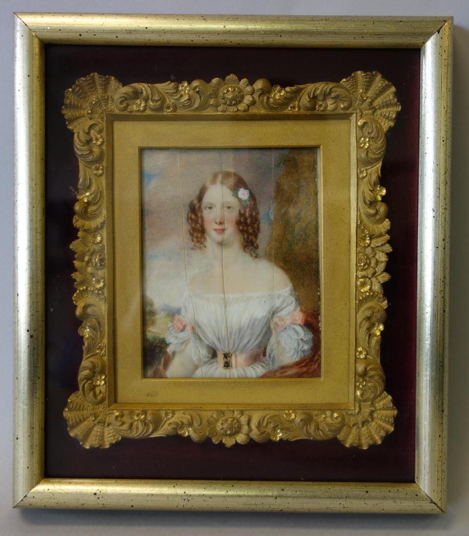 George Lethbridge Saunders, Portrait Lady Villiers - 3