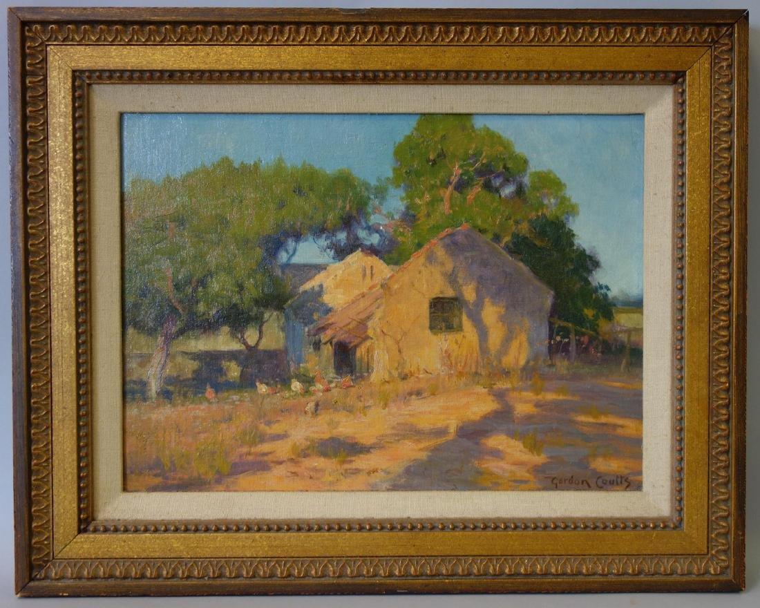 Gordon Coutts (1868-1937) California Barnyard - 2