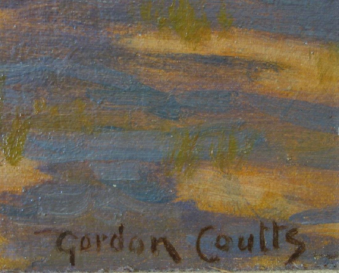 Gordon Coutts (1868-1937) California Barnyard - 3