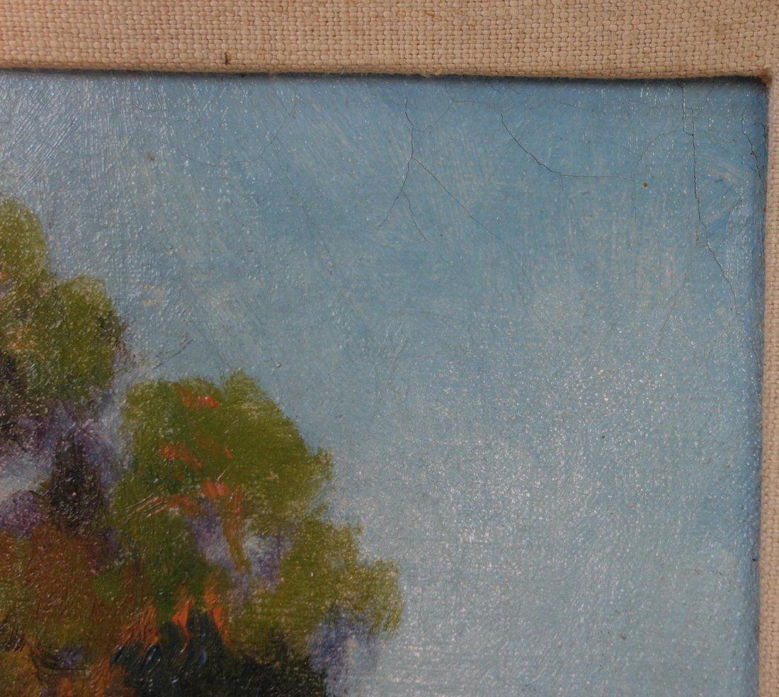 Gordon Coutts (1868-1937) California Barnyard - 4
