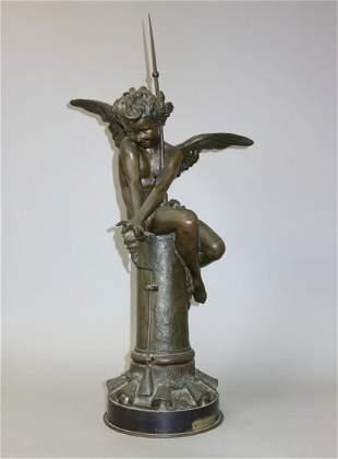 Giulio Monteverde (1837-1917) Bronze, di Franklin