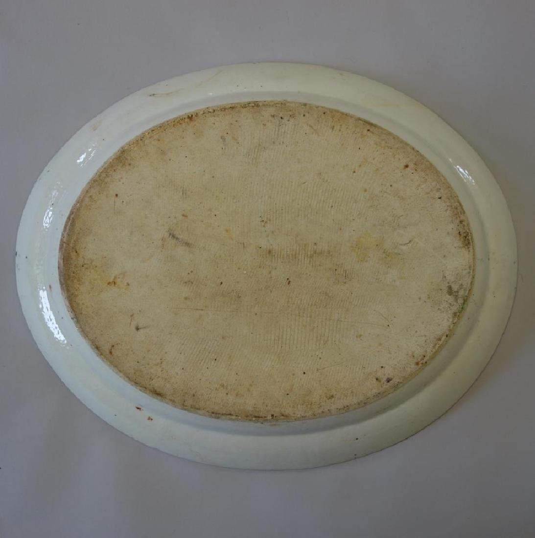 19thc Chinese Export, Large Serving Platter - 2