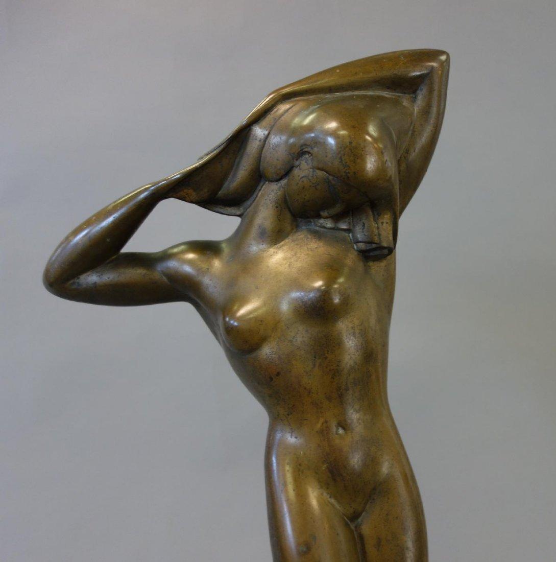 Boris Lovet-Lorski (1894-1973) Bronze Nude, Signed - 2