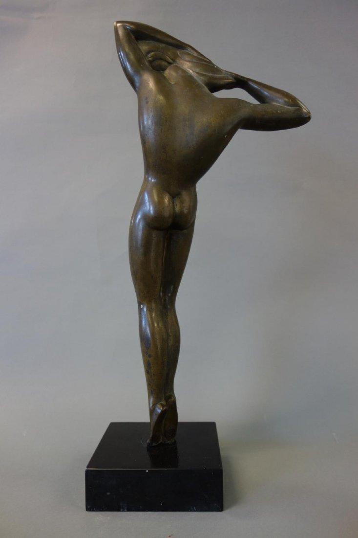 Boris Lovet-Lorski (1894-1973) Bronze Nude, Signed - 3