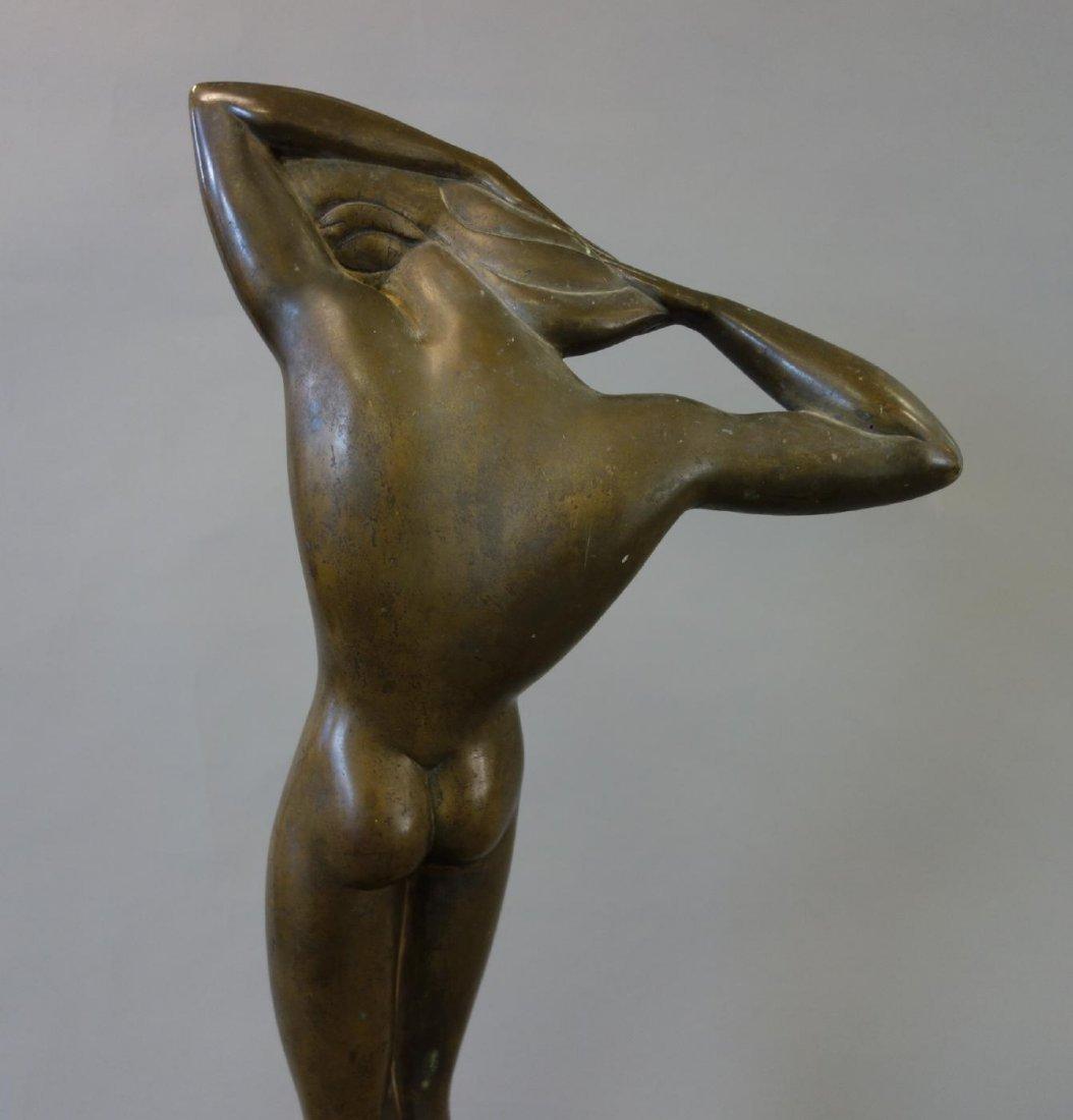 Boris Lovet-Lorski (1894-1973) Bronze Nude, Signed - 4