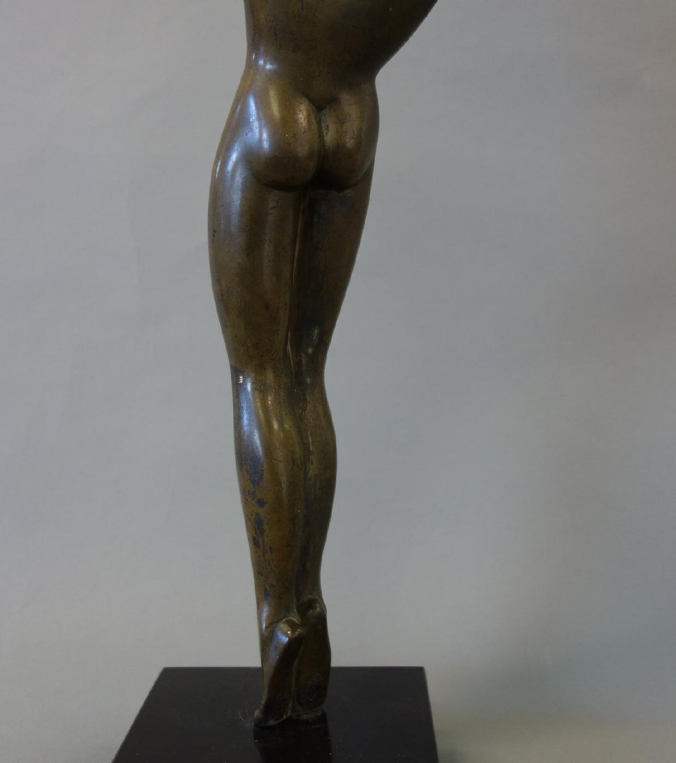 Boris Lovet-Lorski (1894-1973) Bronze Nude, Signed - 5