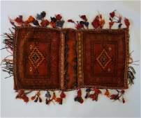 Kashgai Persian Kilim Saddle Bag