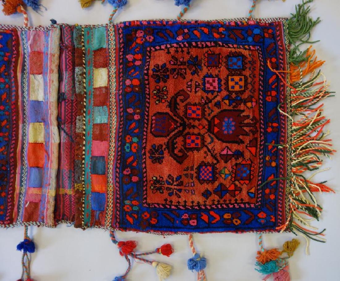 Kashgai Persian Kilim Saddle Bag - 2