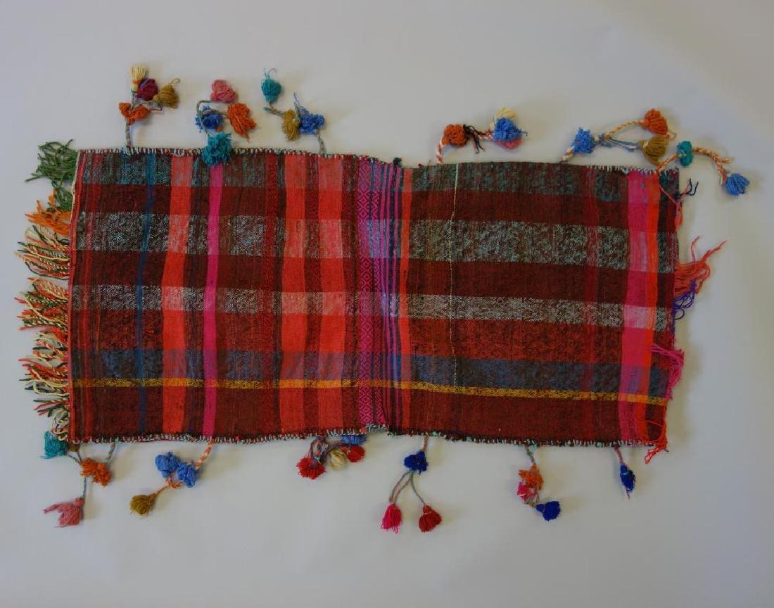 Kashgai Persian Kilim Saddle Bag - 3