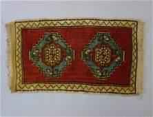 Turkish Shirvan HandKnotted Wool Rug