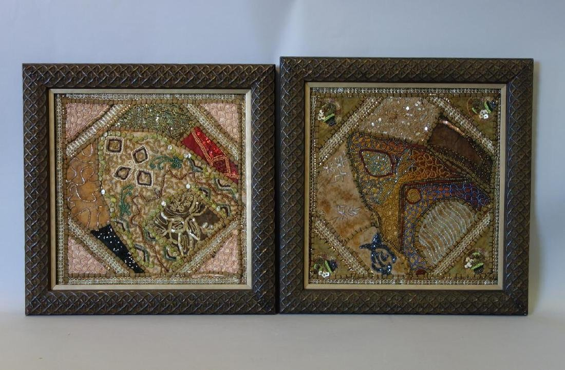 3 Persian / Middle Eastern Tapestry Needleworks - 4